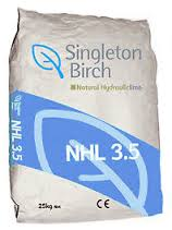 40 Bags Natural Hydraulic Lime NHL 3.5 25Kg Bags